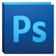 El icono de Adobe photoshop CS5.