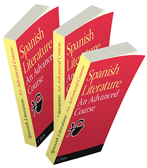 Varios libros de AP Spanish Literature creados en Adobe InDesign.